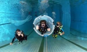 Zwembadtraining: oefen je basis vaardigheden maar ook specials zoals een nettentraining