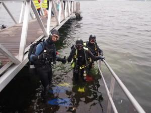 Gelre-Sub leden duiken in Zeeland (Grevelingen)